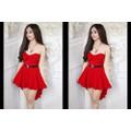 Đầm Đỏ Mullet
