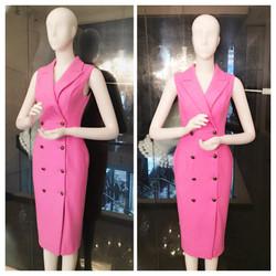 Đầm body dạng vest thiết kế đơn giản sang trọng khi đi tiệc