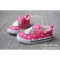 Giày lười cho bé gái Kitty dễ thương G4