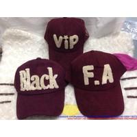 Nón nhung status Black Feel Alone VIP đẳng cấp - Kiểu dáng trẻ trung