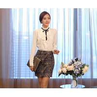Sét áo sơ mi + chân váy công sở Misu - SMD1200