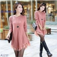 áo len điệu đà A1237