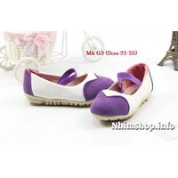 Giày búp bê cho bé gái từ 1 - 3 tuổi G3