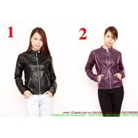 HÀNG SO HOT : Áo khoác da nữ thời trang phong cách mùa đông AKNU213