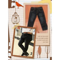 Quần jeans đen wax cực ngầu