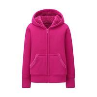Áo nỉ lót lông cho bé gái màu 12 pink- hàng nhập Nhật
