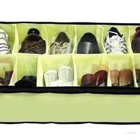 Túi Vải Đựng Giày, Dép 12 ngăn tiện dụng