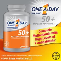 One A Day For Women 50+ Dành Cho Phụ Nữ Trên 50 Tuổi