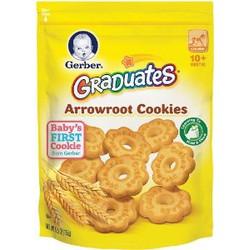 Bánh quy Gerber Graduates® Arrowroot Cookies 155gr