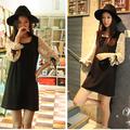 Đầm đen ren tay dài