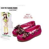 Giày lười cho bé gái từ 1-3 tuổi