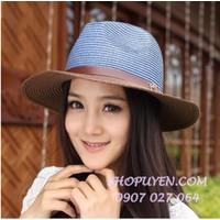 Mũ nón rộng vành nữ N027