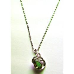 Dây chuyền kim loại bạc, mặt thiên nga  B001-350