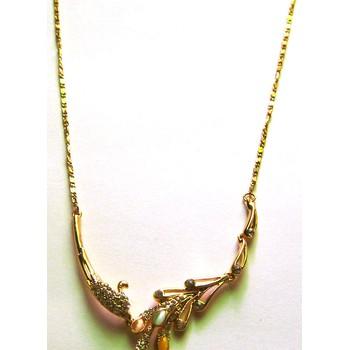 Dây chuyền kim loại vàng AE01-325