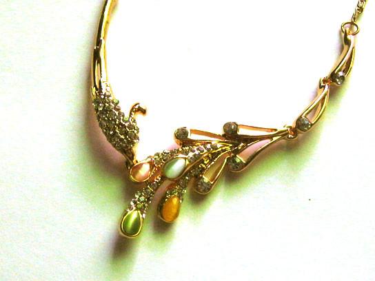 Dây chuyền kim loại vàng AE01-325 3