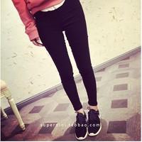 quần legging trơn chất kaki