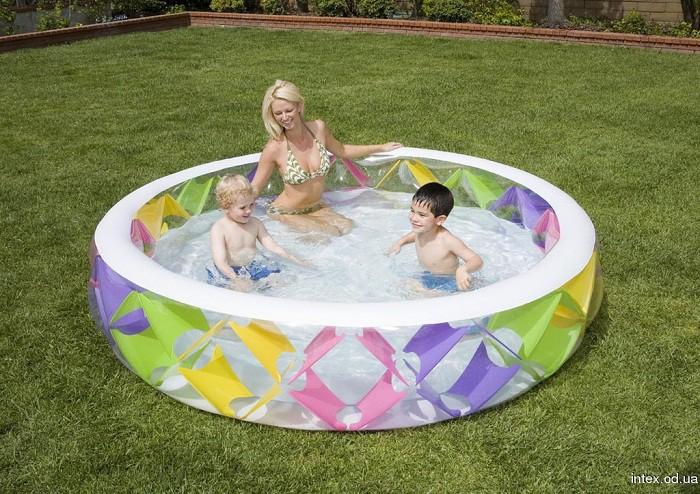 Bể bơi phao tròn sắc màu Intex 56494 1