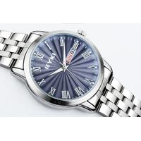 Đồng hồ Eyki dây inox