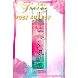 Xịt Toàn Thân Bath and Body Works Pink Chiffon 236ml