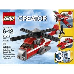 Mô hình máy bay Lego Creator 3 in 1 Red Thunder