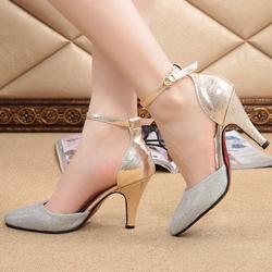 Giày cao gót vàng CG-036
