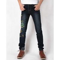 Hằng Jeans - Quần jeans nam ống côn cực chơi cực độc PT6025