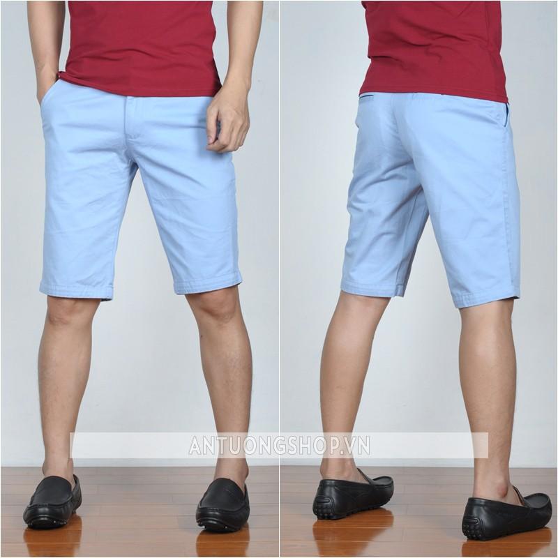 quan short kaki nam mau xanh da troi 160k 1m4G3 s329 2k1cmdjcf46a5 simg d0daf0 800x1200 max Làm mới phong cách ăn diện cùng quần short kaki cá tính