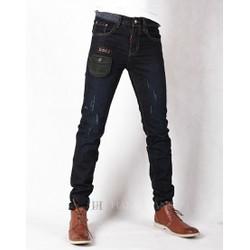 Hằng Jeans - Quần jeans nam ống côn xước nhẹ cực độc PT6026