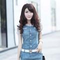 Đầm Jean Tay Ren KMSTT275