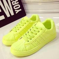 giày thể thao nữ hàn quốc - Mã: GT0026 - XANH LÁ