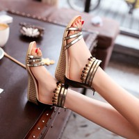 Giày xinh đính hạt dễ thương - SD195D