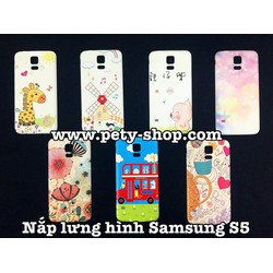 Nắp lưng hình Samsung S3 S4 S5
