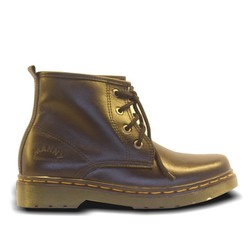 Giày da cao cổ, chất liệu da bò nhập khẩu, đế kếp