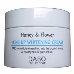 Kem dưỡng trắng Dabo Honey và Flower Tone-Up Whitening Cream