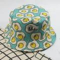 Nón in họa tiết trứng vàng cung cấp bởi Khói.diy