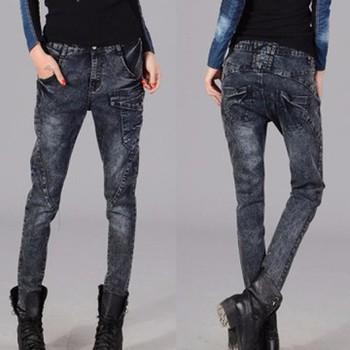 quần jeans skinny túi xéo - Mã: QD794