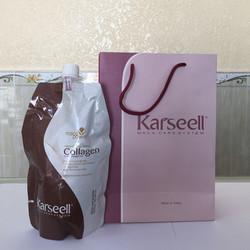 Hàng Cty - Mẫu mới 2017 - Dầu hấp tóc Collagen Karseell - 500ml