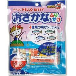 Gia vị rắc cơm vị cá Hello Kitty