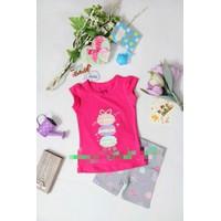Bộ quần áo cho bé gái họa tiết bánh - YY11