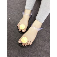 Giày sandals nhựa xỏ ngón hình cam SDXN282760