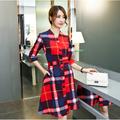 Đầm liền cao cấp  phong cách Hàn Quốc DX291