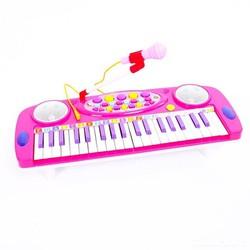 Đàn Organ điện tử kèm micro cho bé tập học nhạc NO.3702B