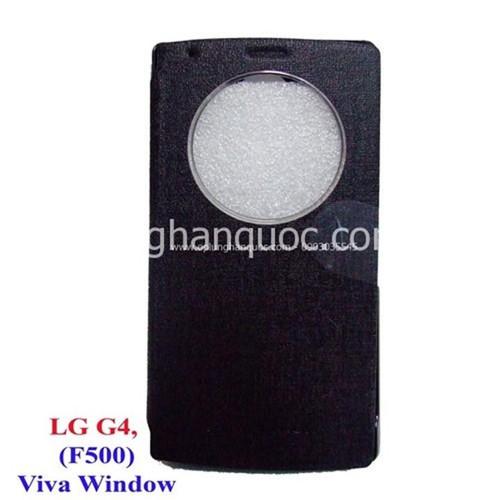 Bao da LG-G4 - F500, hiệu Viva Window, TẶNG KÍNG CƯỜNG LỰC