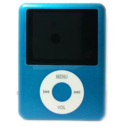 Máy nghe nhạc MP4 kiểu dáng Nano Hola - xanh dương