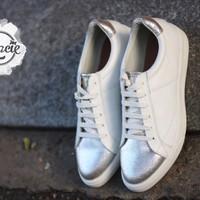 Giày bata MIO NOTIS - Trắng - xuất Nhật - Gracie Shop