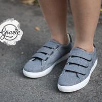 Giày bata MIO NOTIS - xám - xuất Nhật - Gracie Shop