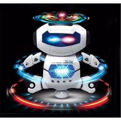 Mô hình Robô quay 360 độ