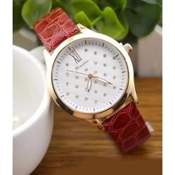 Đồng hồ nữ dây da dễ thương XII-DH030