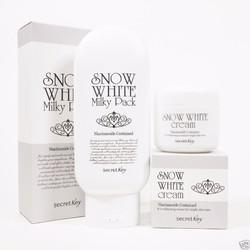 Bộ Tắm Trắng và Kem dưỡng SNOW WHITE