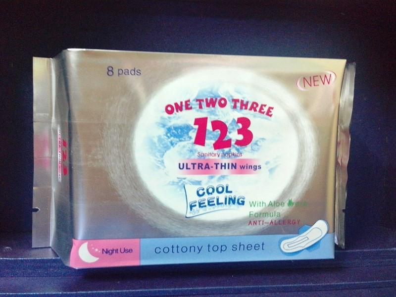 BĂNG VỆ SINH ONE TWO THREE 123 BAN ĐÊM 2